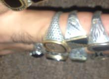 تصفية خواتم فضة تركي عيار 925   925 sterling silver rings filter price is very t