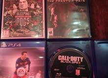 دسكة PS4للبيع