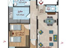 for sale apartment consists of 3 Bedrooms Rooms - El Mansoura University