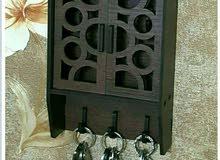 بيت من الخشب لتعليق المفاتيح راءع شكل وخامة