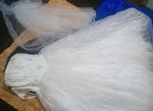 فستان زفاف مشترى من دبي بسعر عرطه