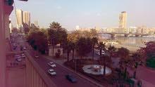 شقة علي النيل مباشرة
