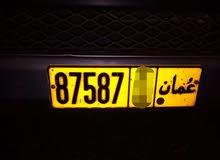 رقم مميز 87587 رمز واحد للبيع