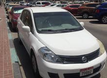 Nissan Tiida made in 2012 for sale