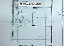 للبيع شقةسكنية  135 متر بقلب الرمال .