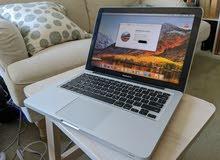 ابل ماك برو Macbook pro هارد 500 جيجا رامات 6 جيجا يعمل بصورة ممتازة