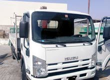 ايسوزو بيك اب بكرين 2015 للبيع . isuzu pickup with crane for sell , 2015