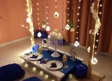 تنظيم حفلات ذكرى زواج وعيد ميلاد