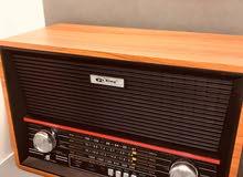 راديو انتيكا ايام زمان خشب يدعم 18 ميزه اكثر من 20 شكل متوفر
