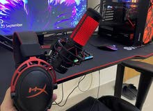 full gaming setup used 3 times only (  new !! )