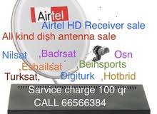 satellite dish installing & shifting