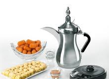 عرض دلة العرب تحضير وتقديم القهوة العربي عرض خاص والتوصيل مجانا لأي مكان بالمملك