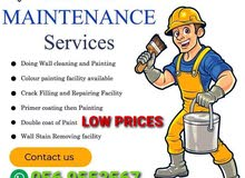 wall painting services available in reasonable rates, move in/ move out paint. C