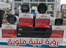 منظومة كاميرات المراقبة فول كولور 5mp