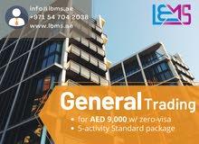 General Trading License Registration #
