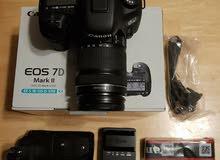 Canon EOS 7D Mark II Digital SLR Camera w/ EF-S 18-135mm