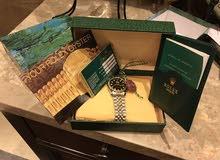 للبيع ساعة رولكس تقليد غير مستعملة و معها بطاقة رولكس من شركة رولكس