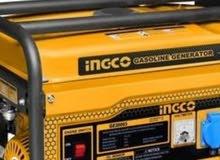 مولد صغير 3800 كيلو يخدم مكيف 12وتلاجة وشاشة واضاة كاملة استعمال انظف شغال100/10