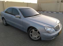 Mercedes Benz S 500 2000 For sale - Silver color