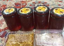 عسل شقلاوة وشمع الخلية
