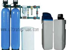 water softner and water filters system