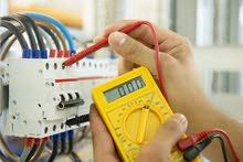 كافة أنواع  التمديدات الكهربائية  منزلي صناعي