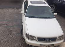 Manual White Audi 1996 for sale