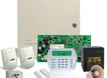 صيانة وبرمجة اجهزة الانذار و المقاسم الهاتفية وساعات البصمة وكميرات المراقبة وشب