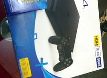 PLAYSTATION  4 SLIM 500 WIFI BLUTOOTH HDR بلاي ستيشن 4 500 جيجا واي فاي بلوتوث