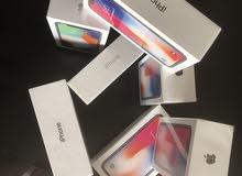 IPhone X 64g جديد امريكي مكفول سنه متاجر وسمارت باي