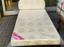 New Single Wooden  Bed With Mattress, 15 CM Thickness