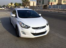 Hyundai Elantra 2013 White, Excellent Condition