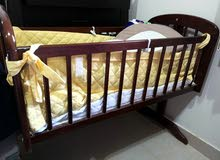 سرير اطفال هزاز 90 cm