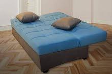 الكنبه السرير بشكل مختلف وجوده عايه خشب زان وماكينه تركي من المصنع جميع الالوان