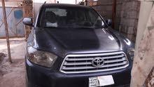Grey Toyota Highlander 2008 for sale