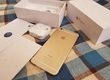 اجمل وارخص عرض على ايفون 6 بلاس 64 جيبي اللون الذهبي جديد