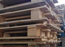 يوجد لدينا جميع انواع طبالي الخشب