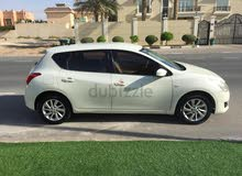 White Nissan Tiida 2014 for sale