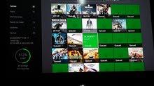 استعمال اسبوع فقط Xbox one s بيه33لعبة