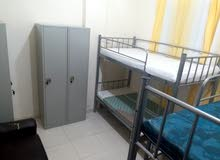 BED SPACE AVAILABLE FOR MAN WITH BATHROOM AND WITHOUT. START FROM 500 AED.