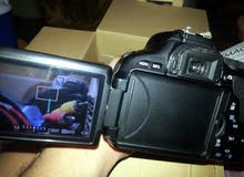 عرطه كاميره كانون D600 مستخدم نظيف مع معداته كامل