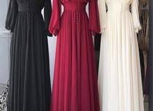 أزياء العروسه البيع