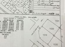 للبيع أرض ركنية في مرباط