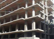 عمارة هيكل على وجهتين 7 طوابق وبدروم