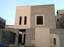 للبيع فيلا مساحة 312 درج داخلي حي الياسمين