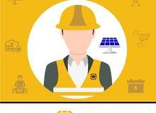 مطلوب مهندس كهرباء او طاقة حديث التخرج