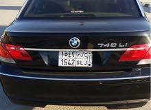 BMW 740 2007 For sale - Blue color