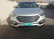Silver Hyundai Santa Fe 2018 for sale