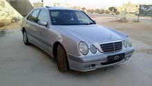 Silver Mercedes Benz E 200 2002 for sale