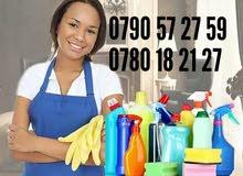 خادمات للعمل بنظام يومي اسبوعي شهري